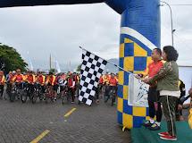 Jaya Sakti Fun Bike Meriah HUT Ke 61 Kodam XIII/Mdk