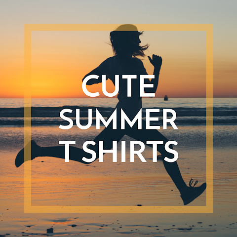 Fun Summer T Shirts for Women and Kids