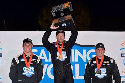 Marco Andretti Wins in Shootout at Slinger #SRX