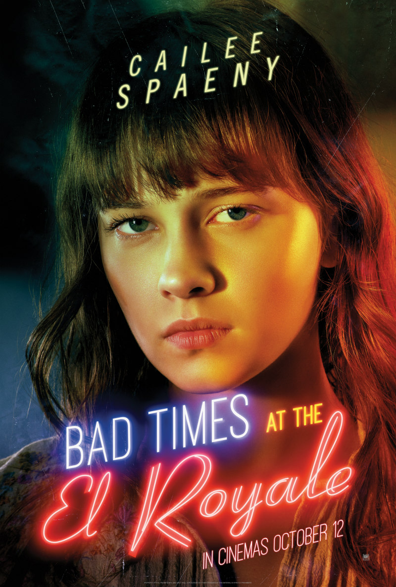 BAD TIMES AT THE EL ROYALE poster cailee spaeny