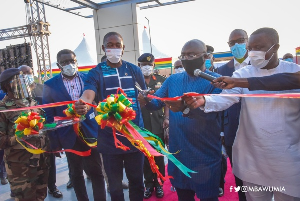 Veep Bawumia Commissions 100 Bed Infectious Disease Hospital; Salutes Patriotism Of Ghanaians