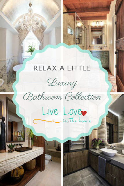 Interior Design Photos, Relax a Little, Luxury Bathroom Collection by Live Love in the Home
