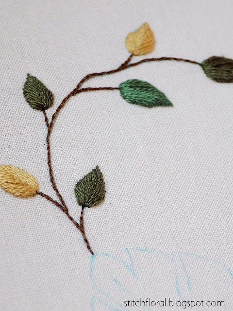 embroidery twig
