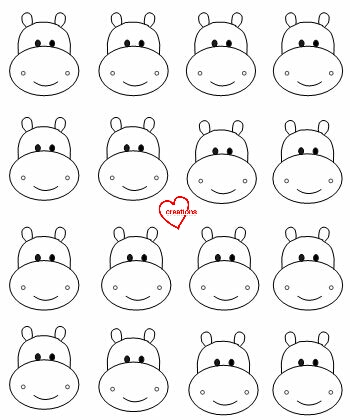 Loving creations for you safari animals assorted macarons for Printable french macaron template