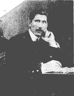 a black and white photocopy of Alexander Wallace Jackson, artist, Otautau Museum