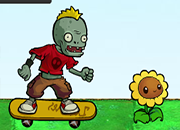 Plants Vs Zombies Skate juego