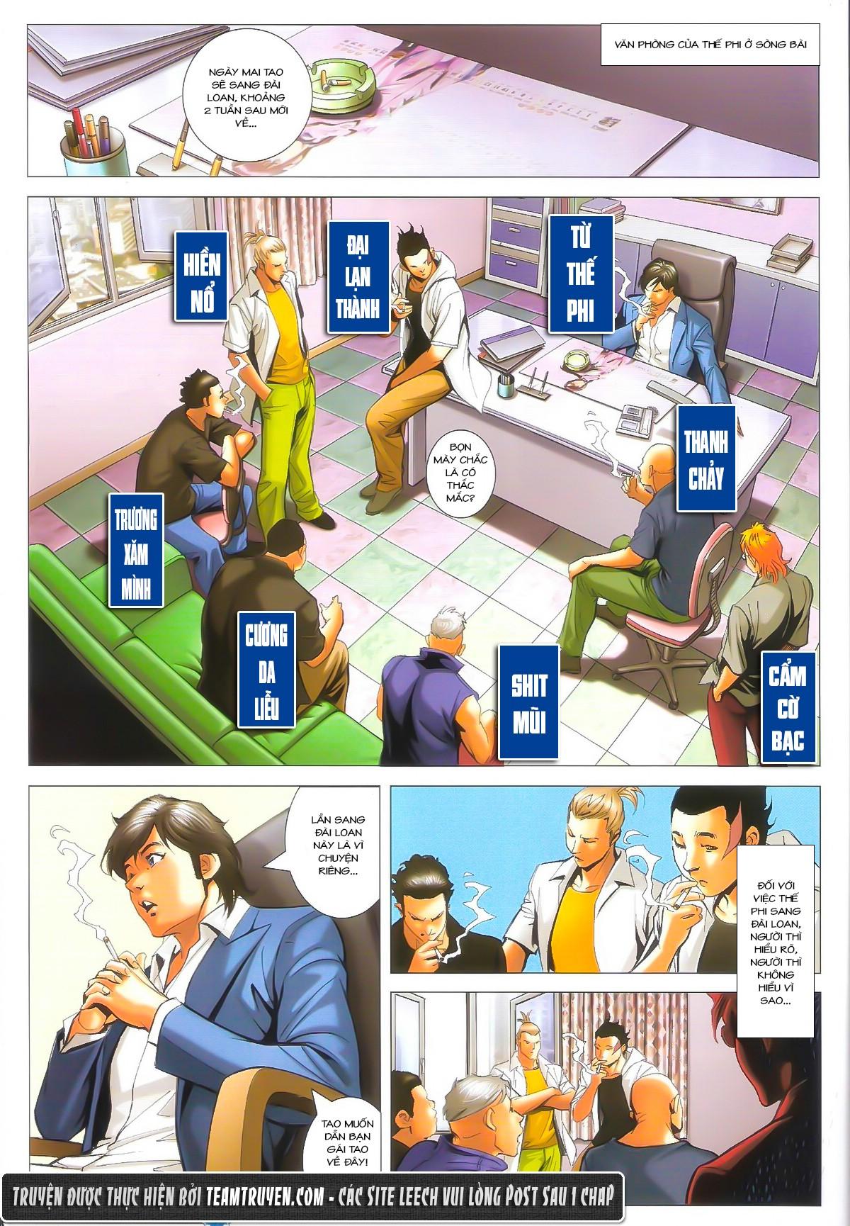 Người Trong Giang Hồ chapter 1602: gặp lại hàn tân trang 22