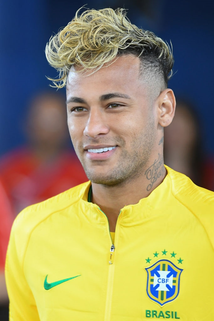 Try Brazils Forward Neymar New Hairstyle Photos Fifa 2018 Hd Photos