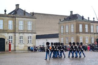 Amalienborg palace cambio de guardia