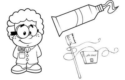 De fio dental escovando os dentes - 2 part 4