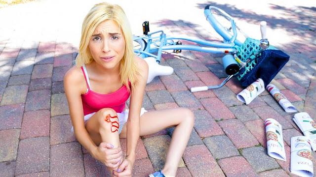 Piper Perri – Bike Accident