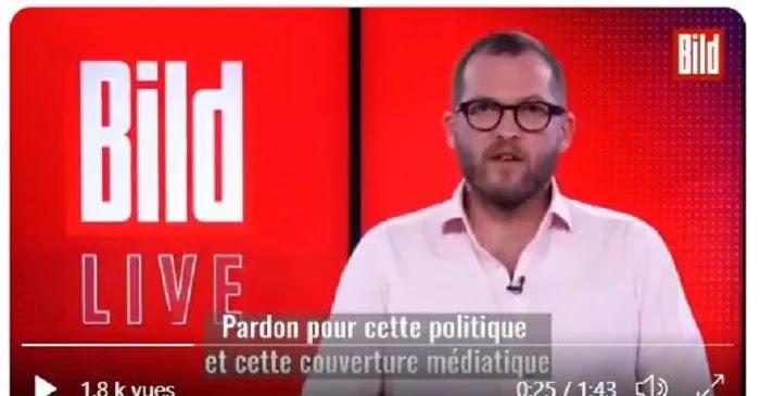 """Η εφημερίδα Bild ζητάει δημόσια συγγνώμη """"για την πολιτική και μιντιακή κάλυψη"""" για προπαγάνδα σχετικά με c0vid!"""