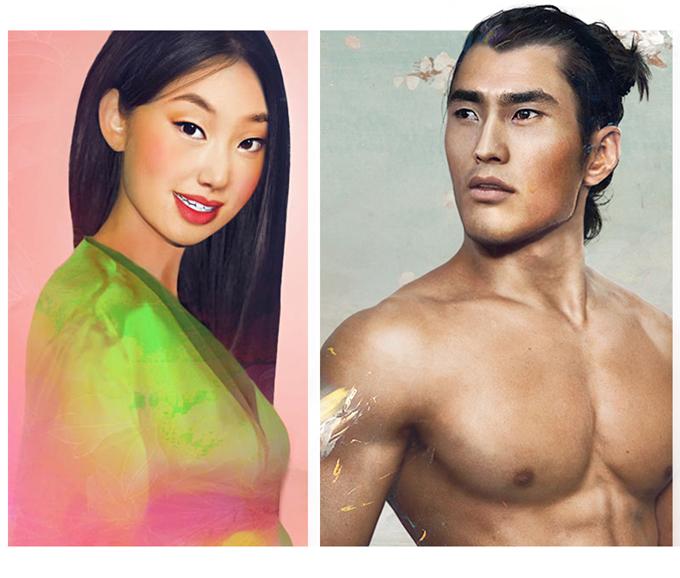 real life disney character Mulan персонажи Дисней в реальной жизни Мулан