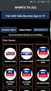 HDTv APK + Yalla Receiver APK By IPTV4BEST.COM