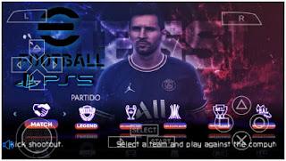 Download eFootball PES 2022 PPSSPP New Kits & Transfer Season 2021/22 Menu Update Best Graphics
