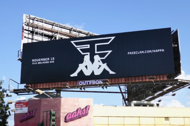FaZe Clan Kappa billboard