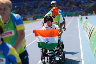 Deepa MalikFirst Indian Woman To Clinch Paralympic Medal Silver in F-53 Shot Put