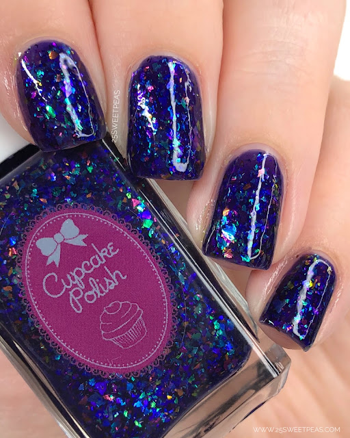 Cupcake Polish Greatest Dream 25 Sweetpeas