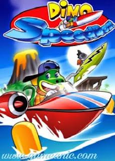 Dino Speedboat Game