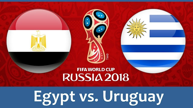 Egypt vs Uruguay Full Match Replay 15 June 2018