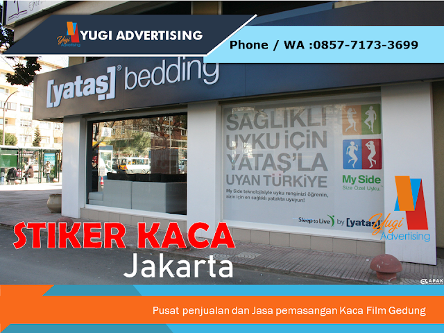 Stiker Kaca Jakarta