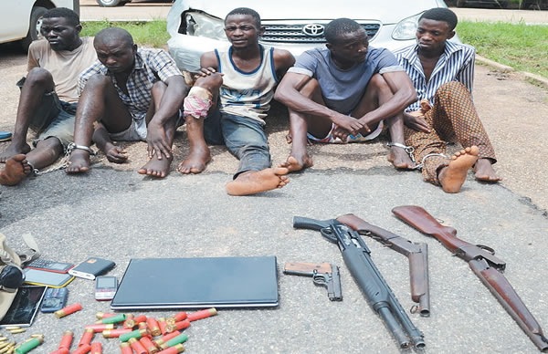 robbery filling station ogbomoso