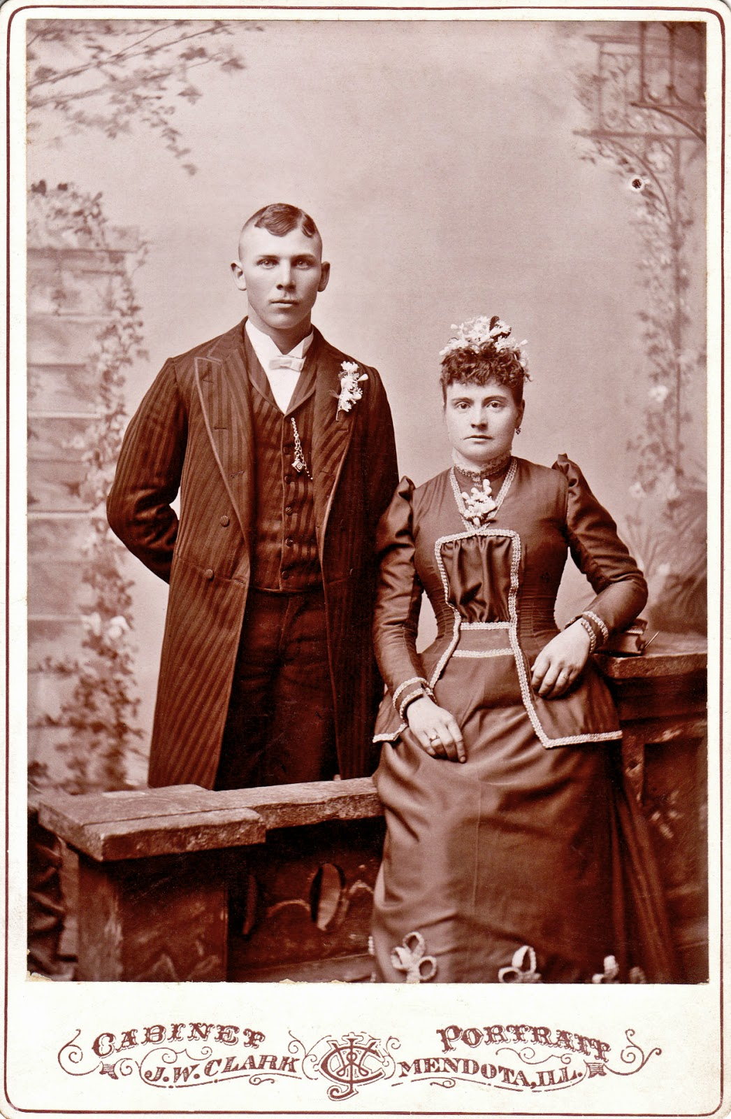 Young couple, Mendota, Illinois