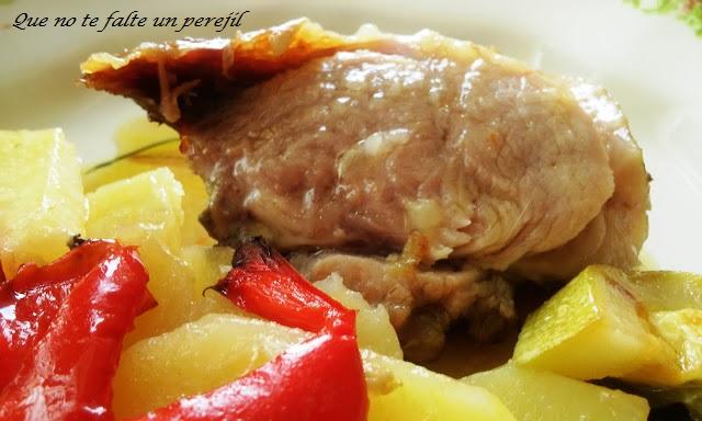 codillo_horno-patatas_verduras