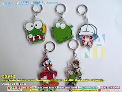 Keychain Anime Atau Gantungan Kunci Akrilik Karakter Premium