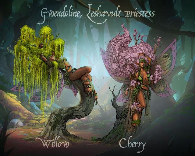 Fantasy Skirmisher Art