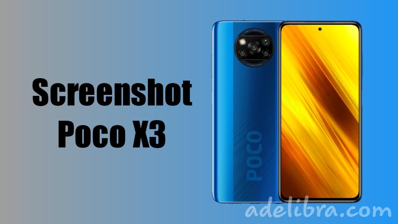 Screenshot Xiaomi Poco X3