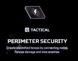 Perimeter Security Wattson Apex Legends Tactical Ability