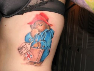Paddington Bear Tattoo - 10 Picture Book Tattoos