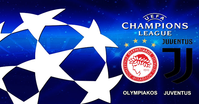 Olympiacos vs Juventus 6 Desember 2017