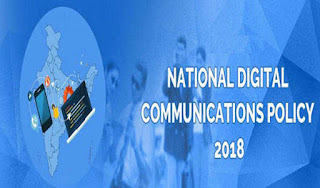 Cabinet approves National Digital Communications Policy-2018 news in hindi