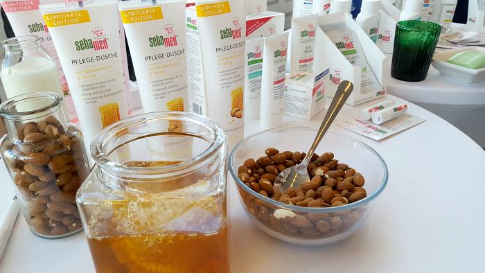 beautypress Blogger Event: sebamed Pflege Dusche Mandelmilch & Honig
