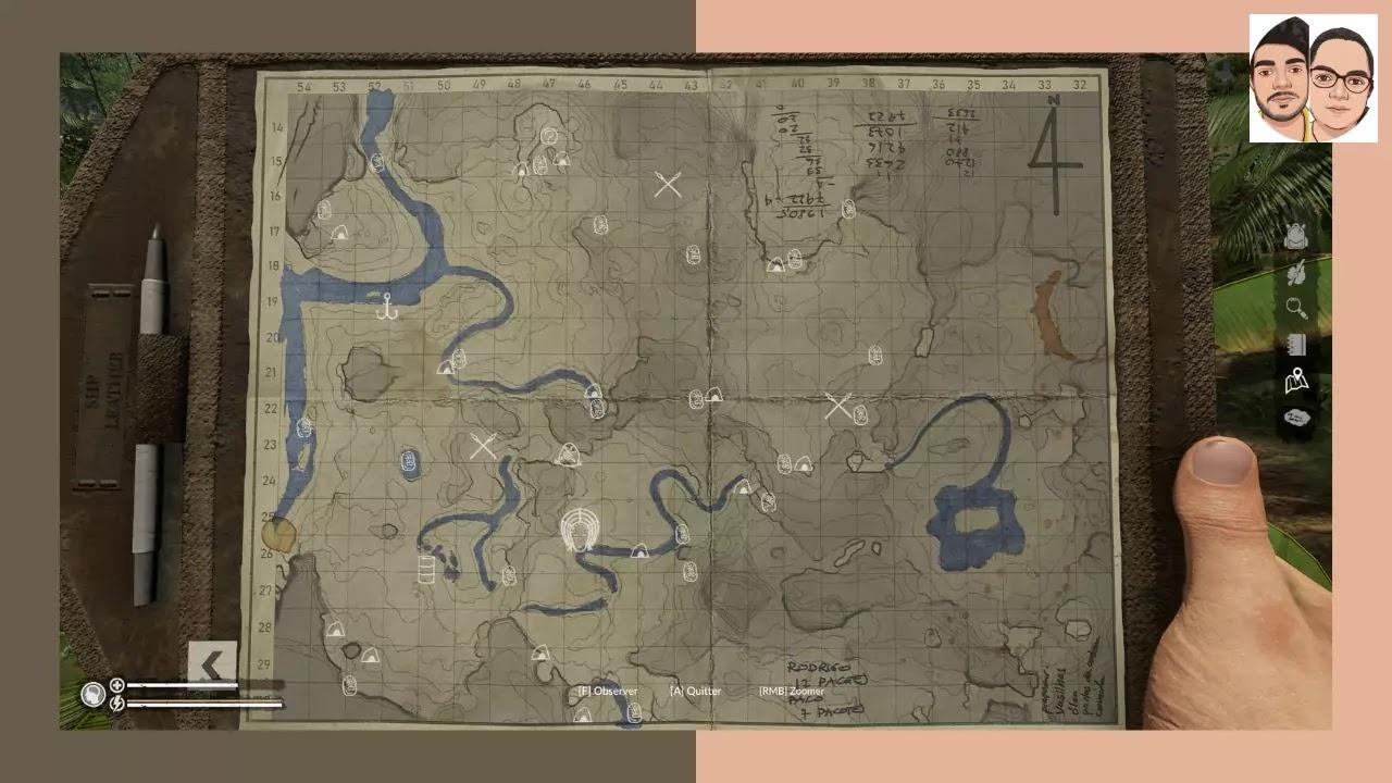 Map 4 Green hell Spirit of Amazonia
