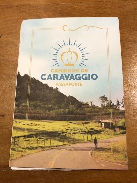Pelo Caminhos de Caravaggio - passaporte