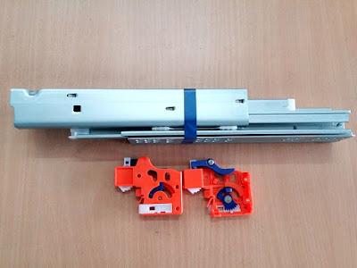 ray trượt âm 350mm siquar