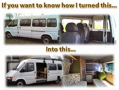 Μετατροπή παλιού λεωφορείου σε σπίτι