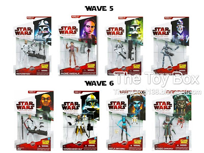 the toy box: star wars - the clone wars collection i and ii hasbro