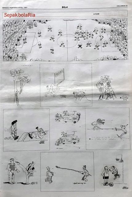 SEPAKBOLA RIA EDISI MINGGU PERTAMA APRIL 1997