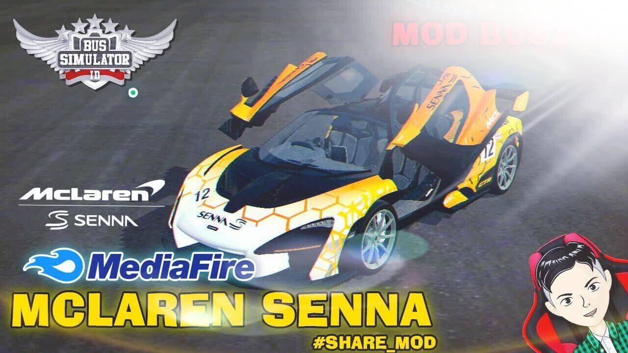 Mod Bussid 2019 McLaren Senna Supercar