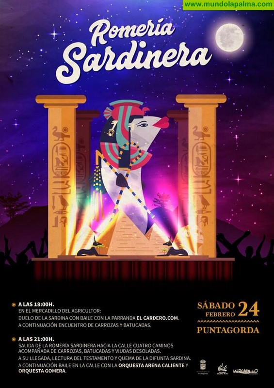 Romería Sardinera en Puntagorda 2018
