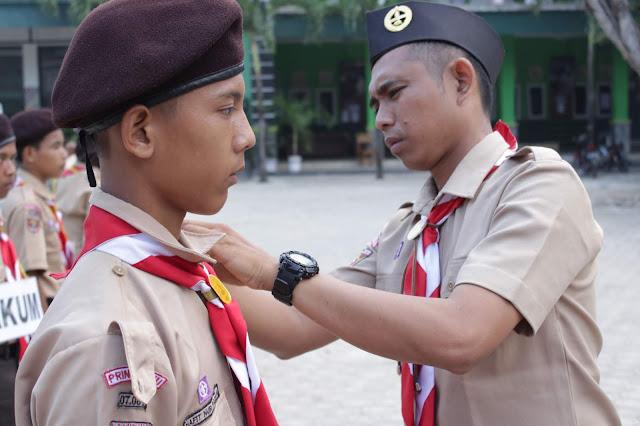 Pelantikan Bantara Pramuka SMK Yasmida Ambarawa Angkatan Ke-11
