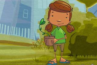 Miúda e o Guarda-chuva - filme - animação