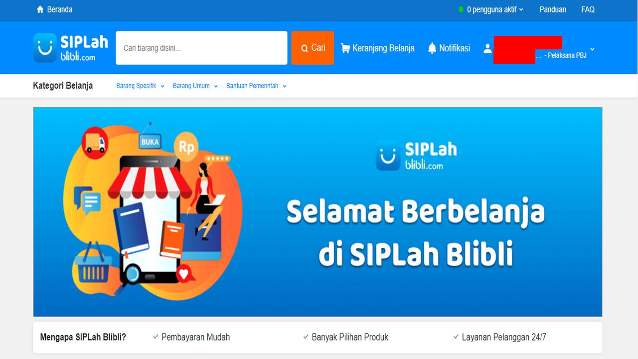 Cara Bayar SIPLah Blibli