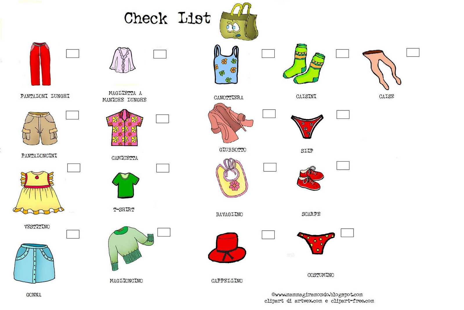 Tongue Tried Bilinguist Packing Checklist For Kids By