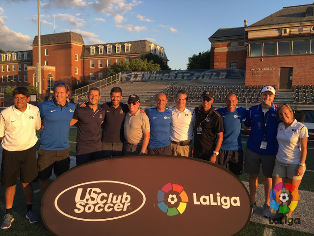 LaLiga sigue formando entrenadores en USA
