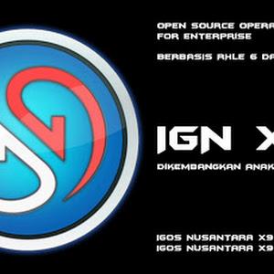 IGOS Nusantara X9 [IGN X9] : OS Handal Untuk Server Perusahaan